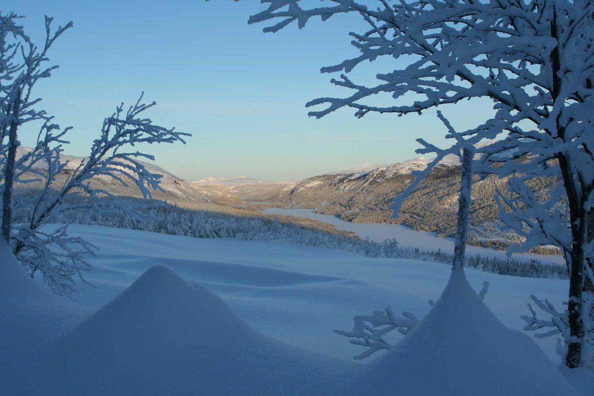 Vinterbilde-Espedalsvannet